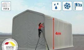 Raktár és garázssátor Wikinger 5 x 10 x 4 m (lángálló 720 g/m2)